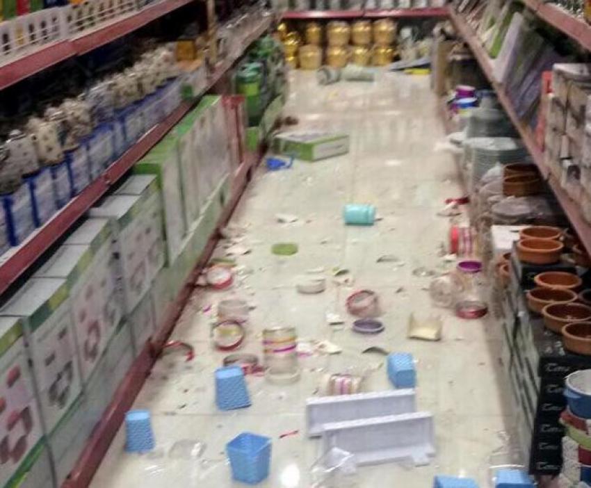 Süleymaniye'de 7.2 büyüklüğünde deprem: İşte o kareler