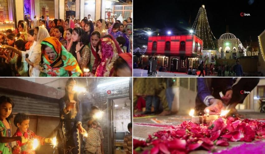 Hinduların 'Işık Festivali' başladı