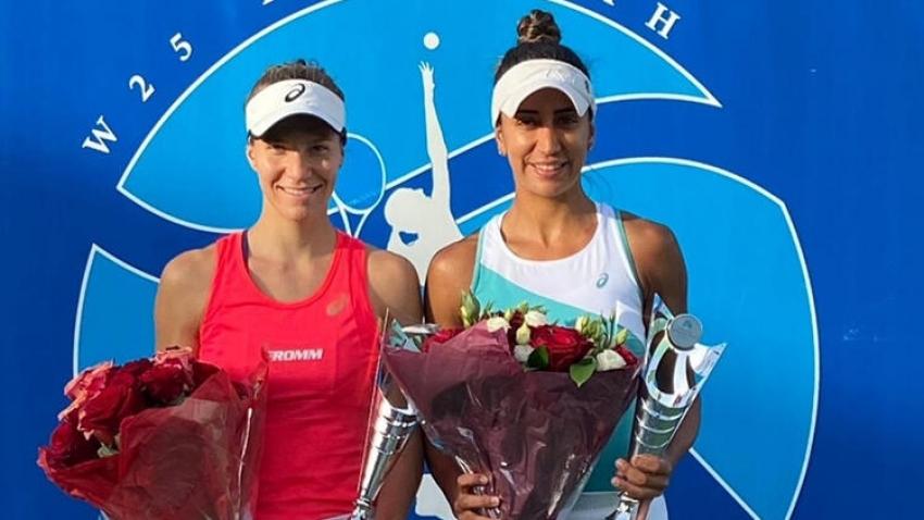 Çağla Büyükakçay ve Viktorija Golubic şampiyonluğa ulaştı