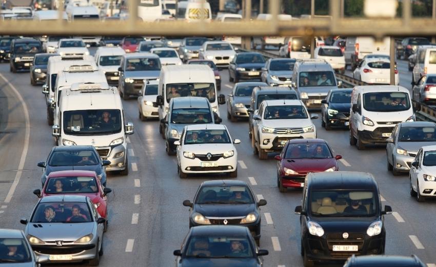 Araç sayısı 22,7 milyona yaklaştı