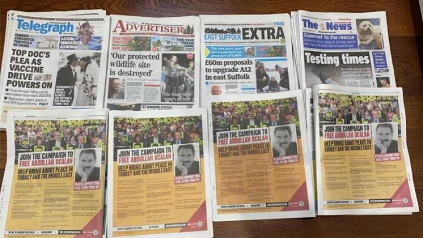 İngiliz gazeteleri manşetlerini PKK'ya açtı