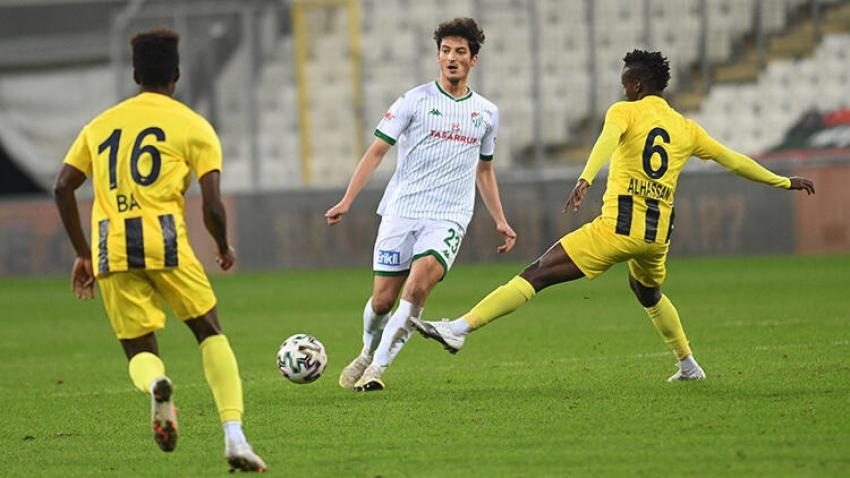 Bursaspor son 3 maçta suskun kaldı