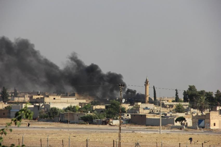 IŞİD o noktayı havaya uçurdu