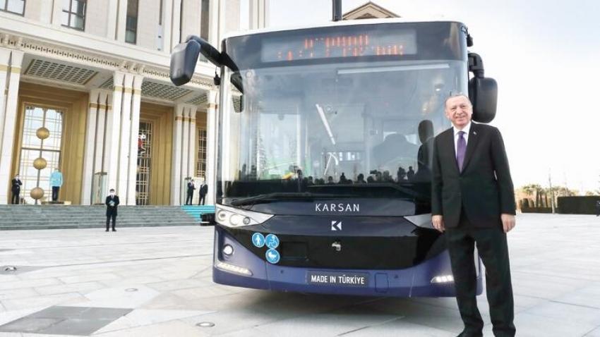 Karsan'ın otonom otobüsü Külliye'de
