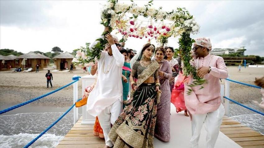 Hintliler düğün için Türkiye'ye gelmeye hazırlanıyor