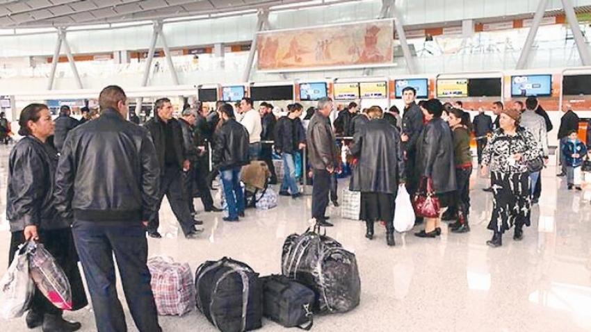 Ermenistan'da halk göçmeye başladı