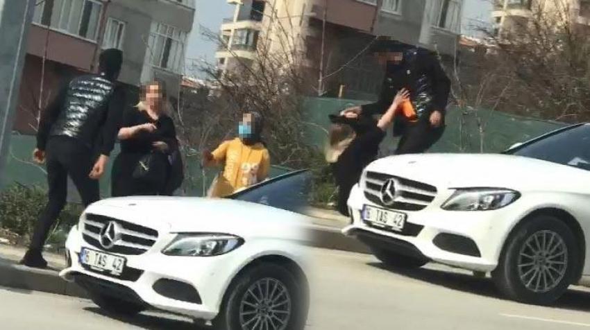 Bursa'da skandal görüntüler