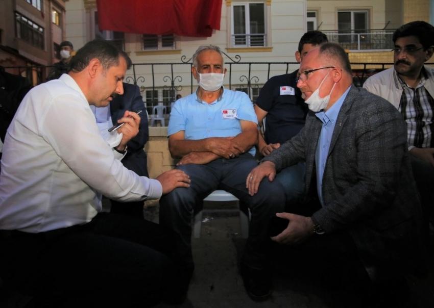 Erdoğan, şehit babasıyla cep telefonunda görüştü
