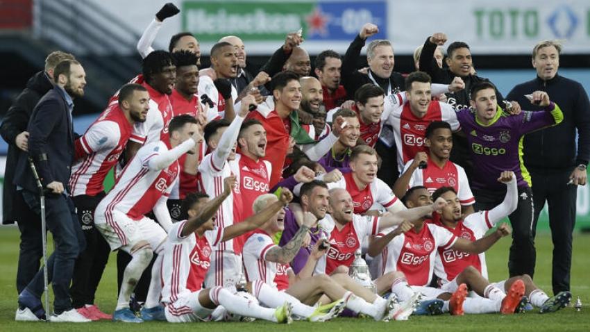 Ajax son dakika golüyle kupayı kazandı