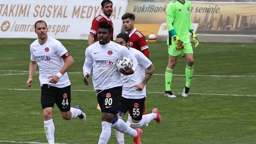 7 gollü maç Ümraniyespor'un