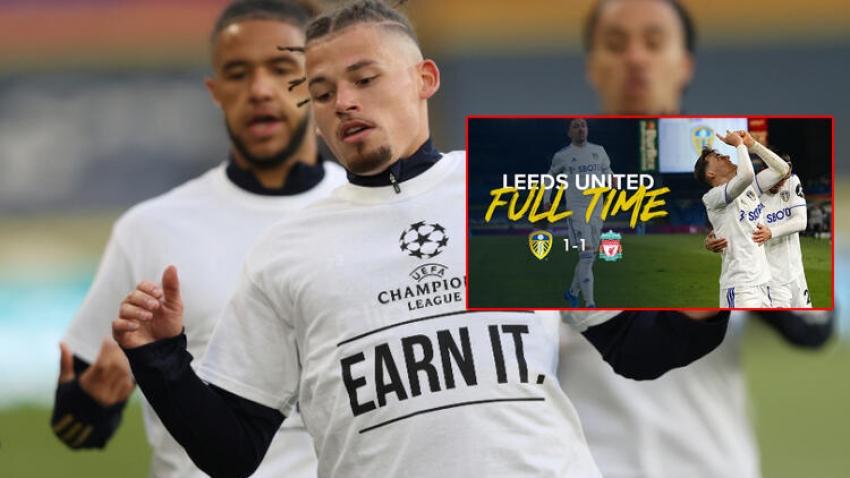 Leeds United'ın protestosu geceye damga vurdu!