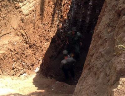 Nusaybin'de bir tünel daha imha edildi