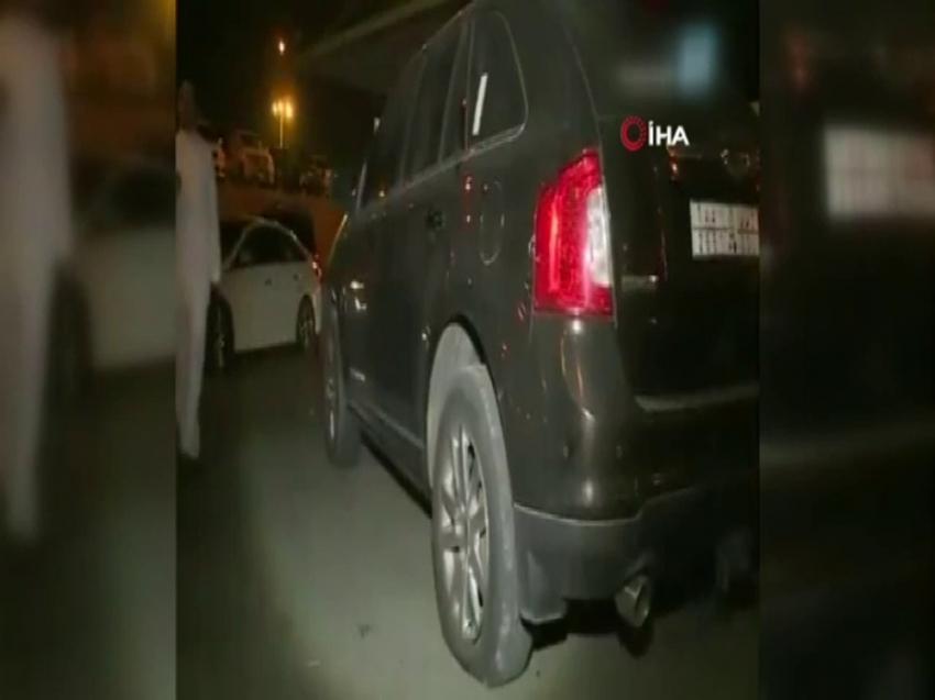 Husilerin saldırdığı Abha Havalalanı'nın görüntüleri ortaya çıktı