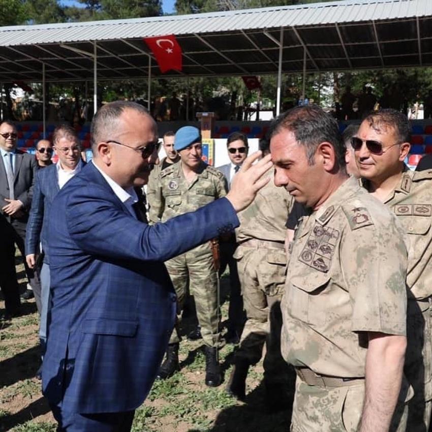 Siirt'te Mehmetçik için kurban kesildi