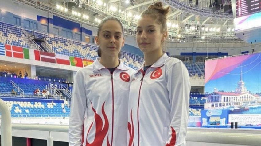 Elif Çolak ve Sıla Karakuş, Avrupa ikincisi oldular