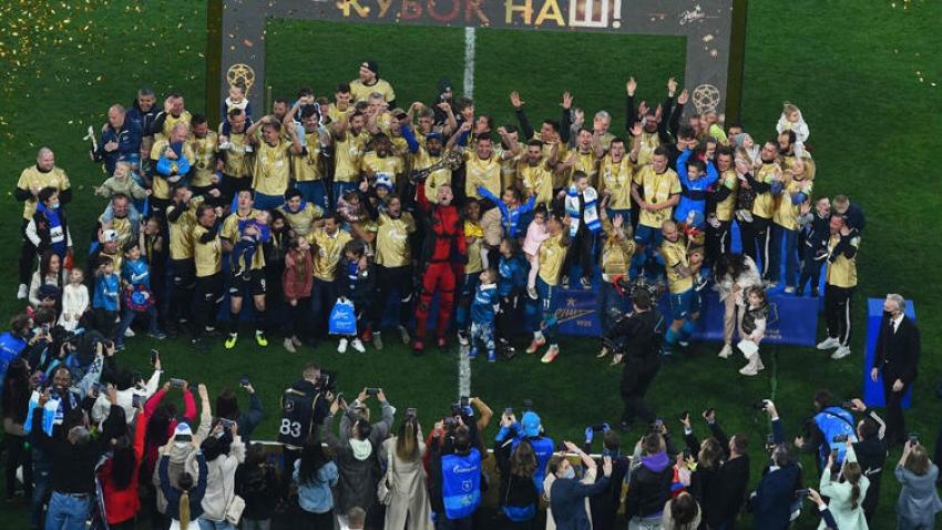 Rusya'da şampiyon Zenit