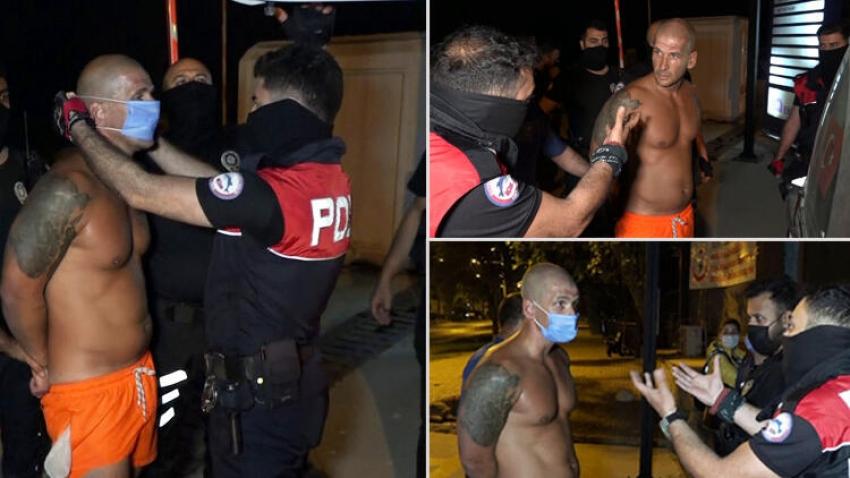 Türk polisine hakaret eden bir İngiliz turisti sınır dışı edemediniz!