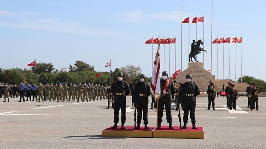 KKTC Güvenlik Kuvvetleri Komutanlığı'nda yemin töreni düzenlendi