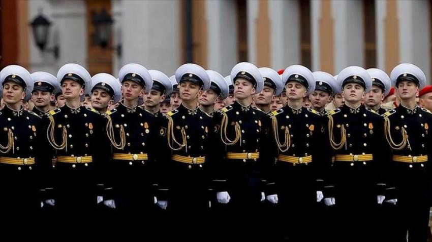 Rusya'da 9 Mayıs Zafer Günü törenlerle kutlandı