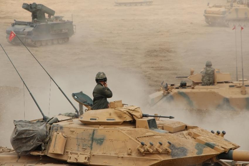 2. Ordu Komutanı tatbikat bölgesine gitti
