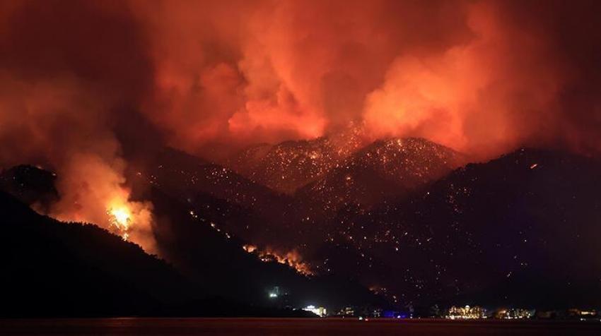 Azerbaycan'dan Türkiye'ye 'yangın' desteği!