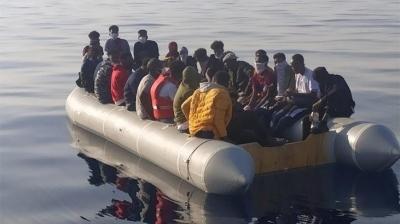 61 kaçak göçmen kurtarıldı