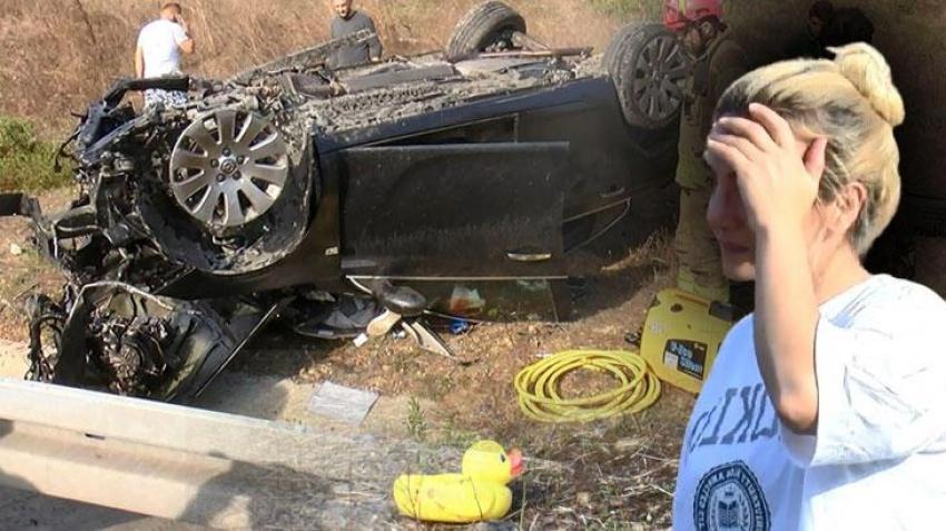 Korkunç kazada 2 kişi hayatını kaybetti
