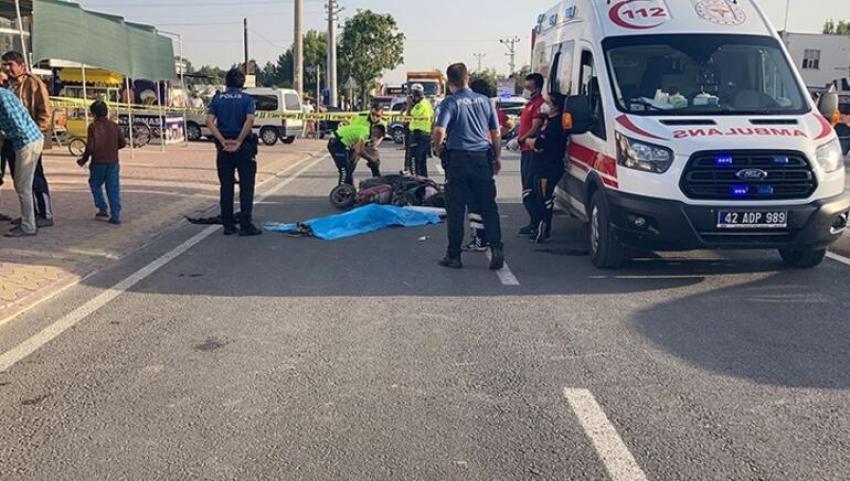 Kaza yapan kardeşleri ölüm ayırdı
