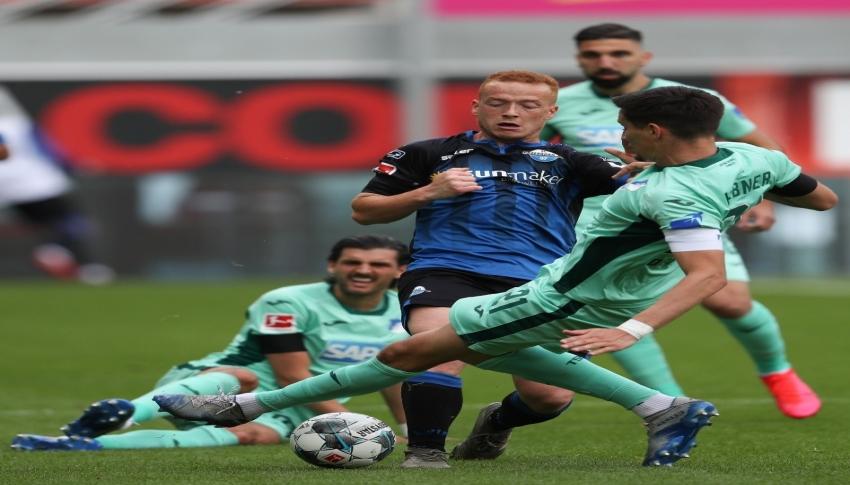 Paderborn-Hoffenheim maçında puanlar paylaşıldı