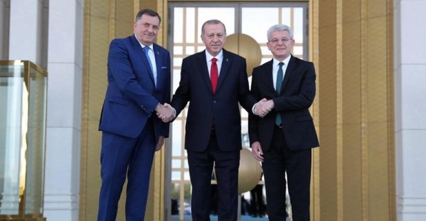 Erdoğan-Dodik ortak basın toplantısı