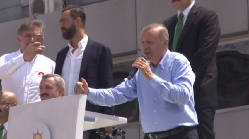 Erdoğan çok sert çıktı: Ulan terbiyesiz...