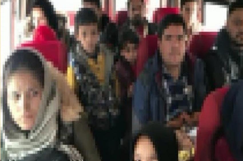 Evde zorla tutulan 34 yabancı uyruklu şahıs kurtarıldı