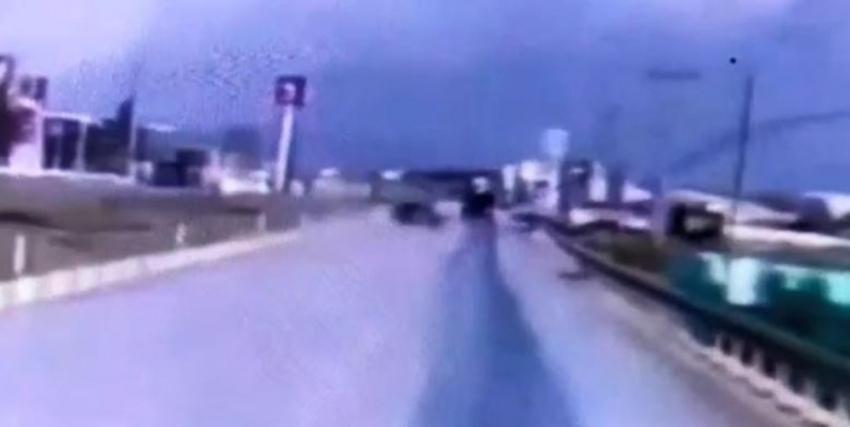 3 askerin hayatını kaybettiği kaza kamerada