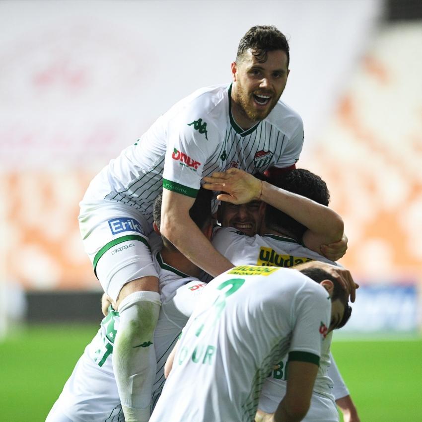 Bursaspor'un son haftalardaki performansı dikkat çekici