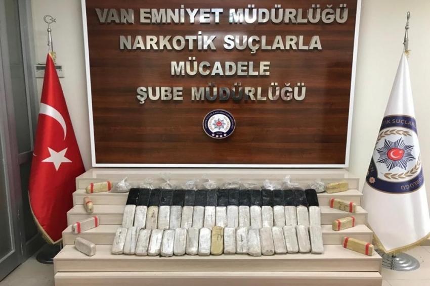 Van'da 35 kilo 320 gram eroin ele geçirildi