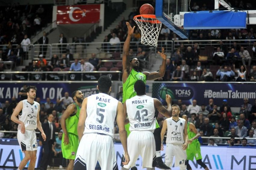 Tofaş-Partizan NIS Belgrad: 82-72
