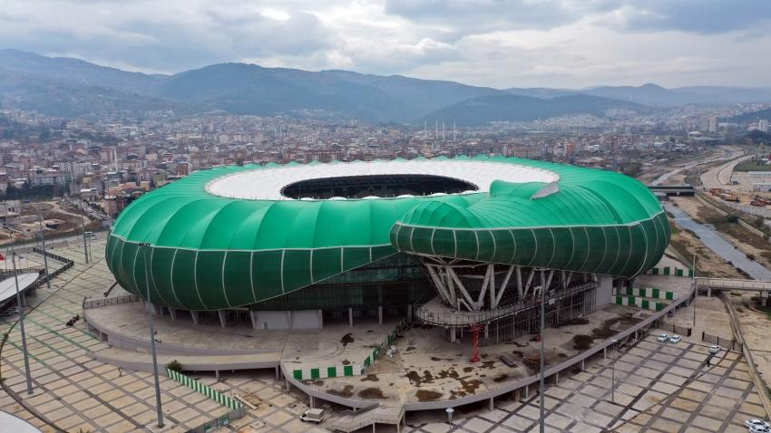Timsah Arena'da yeni ihale