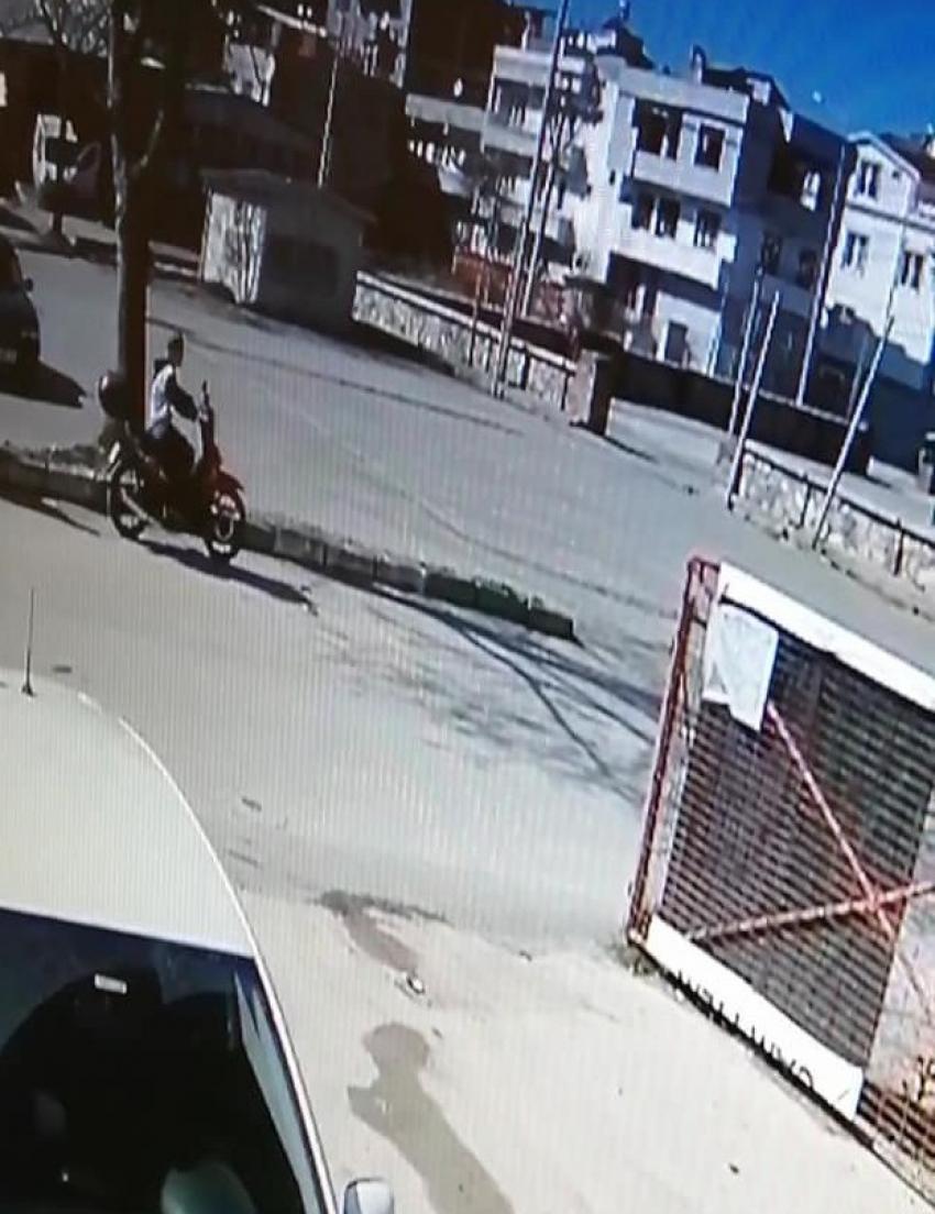 Test sürüşünde motosikleti çaldı
