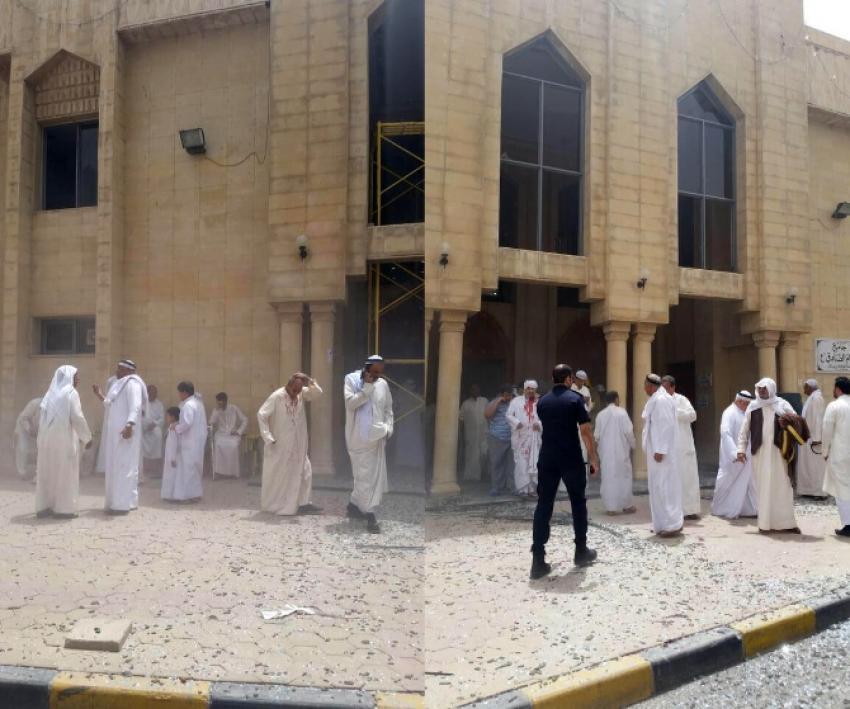 Şii camisine bombalı saldırı!