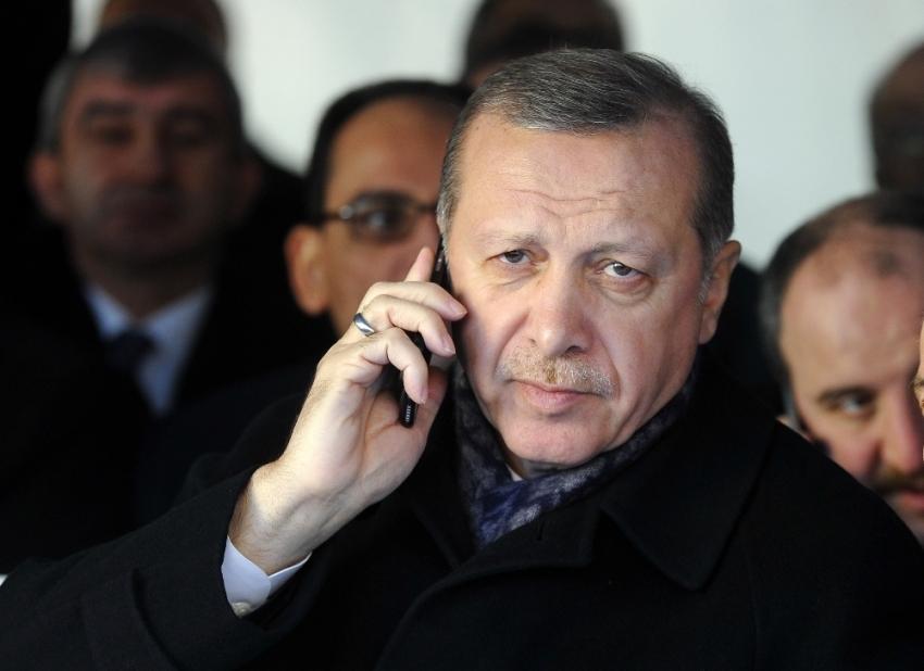 Erdoğan'dan Talabani ailesine taziye telefonu