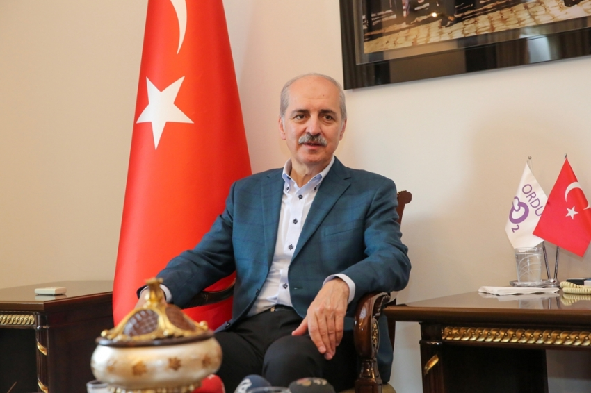 """Kurtulmuş: """"CHP'nin yaptığı VIP krizi değil devlete saldırıdır"""""""