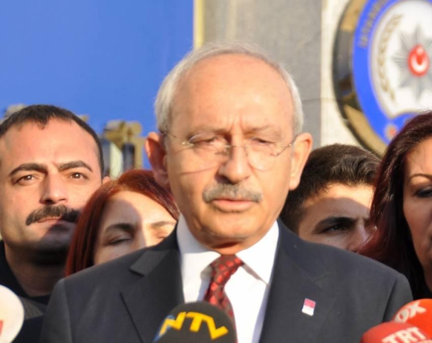 Kılıçdaroğlu, Yıldırım ve Akar'ı aradı