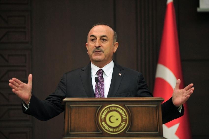 """Bakan Çavuşoğlu: """"ABD, bu konuda kendine güveniyorsa çalışma grubuna evet demeli"""""""