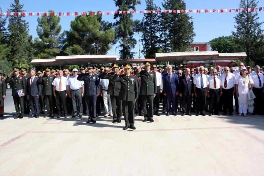 Kıbrıs'ın Fethi'nin 448. yılı törenlerle kutlandı