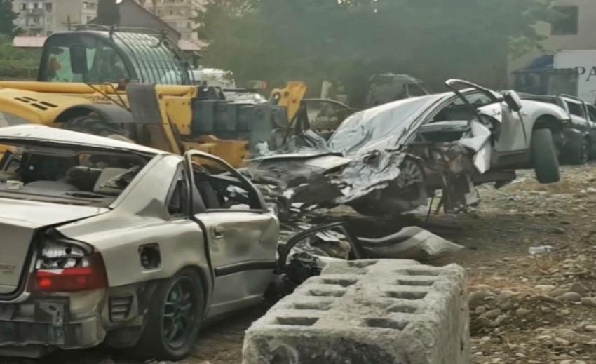 'Hızlı ve Öfkeli 9', 30'dan fazla aracı hurdaya çevirdi