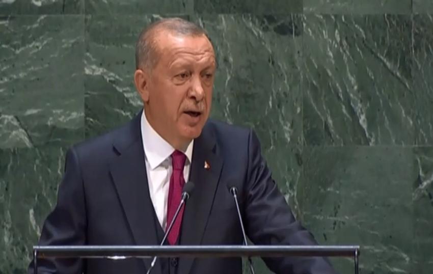 """BM 74. Genel Kurulu'nda konuşan Cumhurbaşkanı Erdoğan: """"75. Genel Kurul Başkanlığı görevine talibiz"""""""