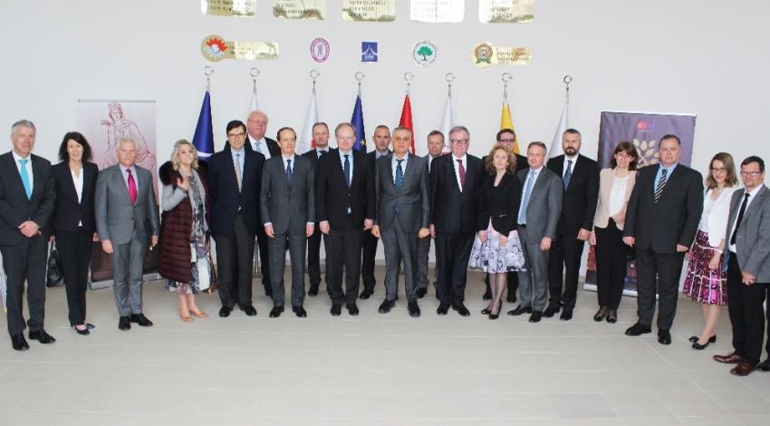 Avrupa Birliği Büyükelçileri Hatay'da