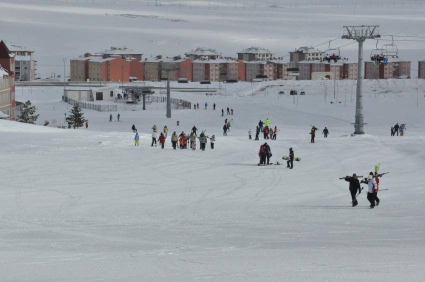 Yurttan kış manzaraları