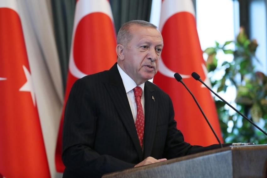 Cumhurbaşkanı Erdoğan büyükşehir belediye başkanları ile bir araya geldi