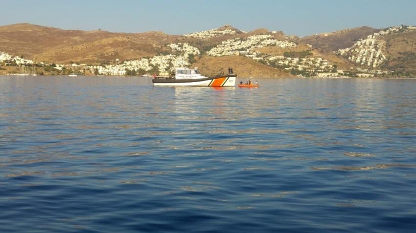 Bodrum'da göçmen teknesi battı: 2 ölü